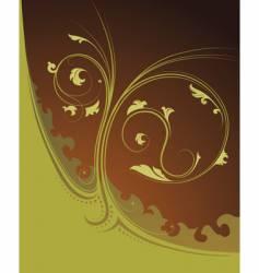 decorative ornament vector image vector image