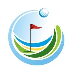 Golf Emblem vector image