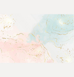 Abstract two colored pink and blue liquid marble vector
