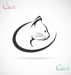 Cat design vector image