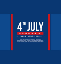 Celebration stock independence day banner style vector