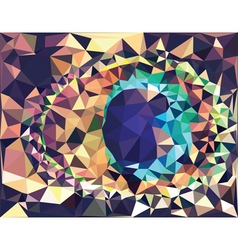 Colorful Geometric Abstraction2 vector image