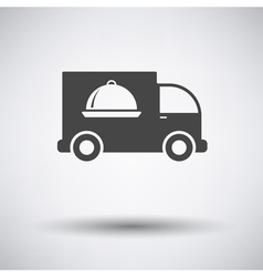 Delivering car icon vector image