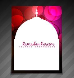 Elegant ramadan festival vector