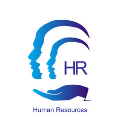 human resources design concept vector image