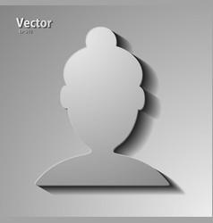 Male avatar profile picture eps10 vector