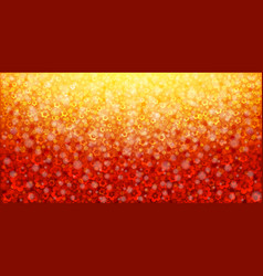 Red abstract floral background vector