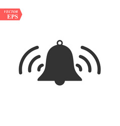 ringing bell iconbell icon art eps image vector image