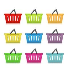 Shopping Baskets vector