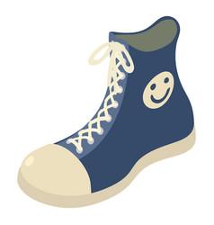 Sneaker icon isometric style vector