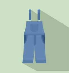 strip pants icon flat style vector image