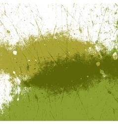 Green Paint Texture vector image vector image