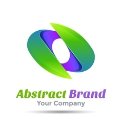 Abstract Sign Logo Template business icon vector image