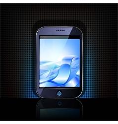Smartphone editable file vector
