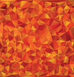 Autumn glass mosaic vector image vector image