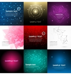 Abstract technology background for design vector