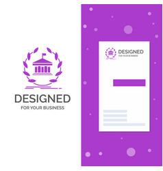 business logo for bank banking online university vector image