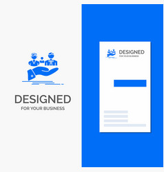 Business logo for insurance health family life vector
