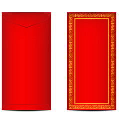 Chinese Ang Pao or Red Envelope vector