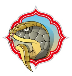 Chinese snake vector