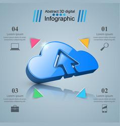 Dowvnload cloud arrows icon business vector
