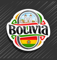 Logo for bolivia vector