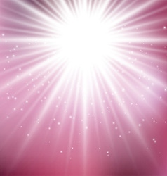 Pink starburst background 0707 vector