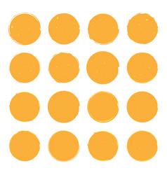 Sixteen different golden vector