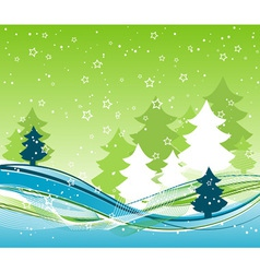 Template christmas background vector