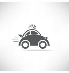 Car Delivery Icon vector image