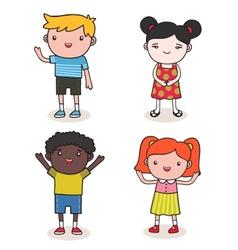 baby kids vector image vector image