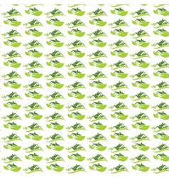 seamless pattern of house roofs for real estate vector image