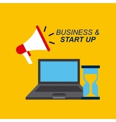 Business and start up design vector