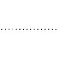electronics - flat icons vector image
