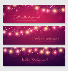 festive header design for your site vector image