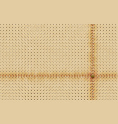 Light perforated leather texture wallpaper vector