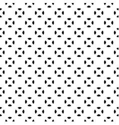minimalist seamless pattern black white vector image