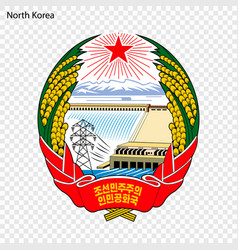 national emblem or symbol vector image