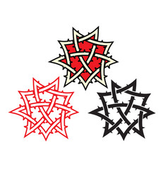 ornament tattoo vector image