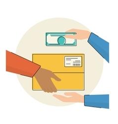 Payment cash vector