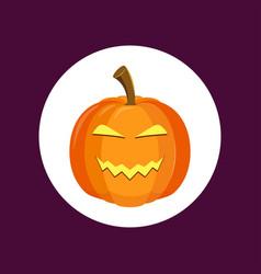 pumpkin icon sign symbol vector image