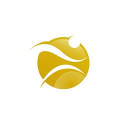 Running and fitness logo design vector