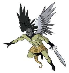 Dark angel vector