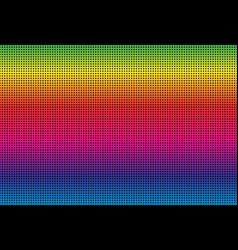 banner lgbt sequin background sequin rainbow flag vector image