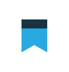 Bookmark colorful icon symbol premium quality vector