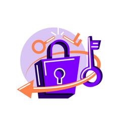 Change password vector