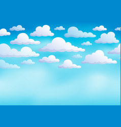 cloudy sky background 8 vector image