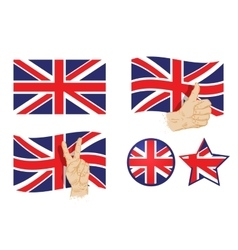 England britain uk flag vector