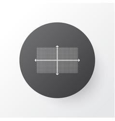 infographic icon symbol premium quality isolated vector image