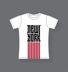 new york - t-shirt design tee shirt graphics vector image
